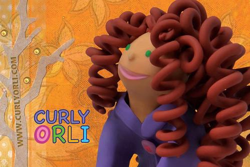 Curly Orli by Lana Lagoonca