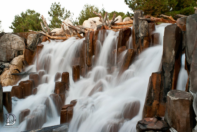 Grizzly River Run Waterfall