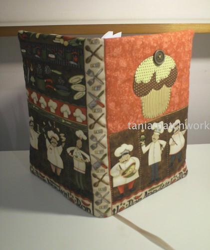 Capa Caderno de Receitas by tania patchwork