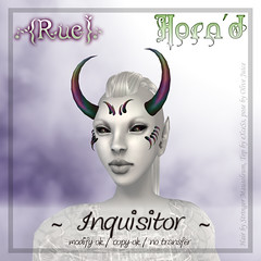 .{Rue}. Horn'd / Inquisitor