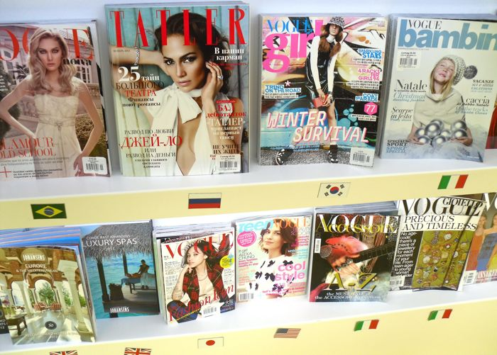 Conde Nast shelf