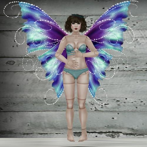 Aquamarine Fairy doll