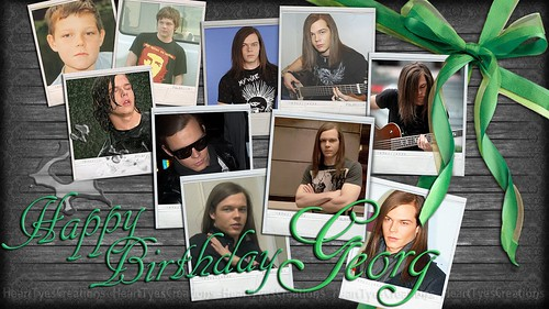 ♥HAPPY BIRTHDAY GEORG ♥