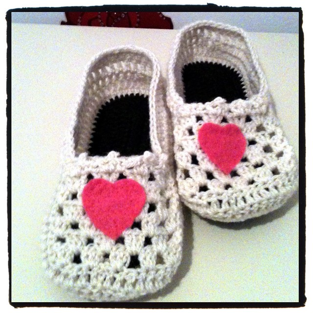 crochet double sole slippers Flickr - Photo Sharing!