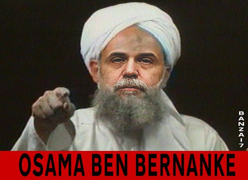 OSAMA BEN BERNANKE by Colonel Flick