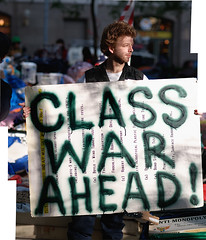 Occupy Wall Street Wednesday - 'Class War Ahead!' by Jay Fine