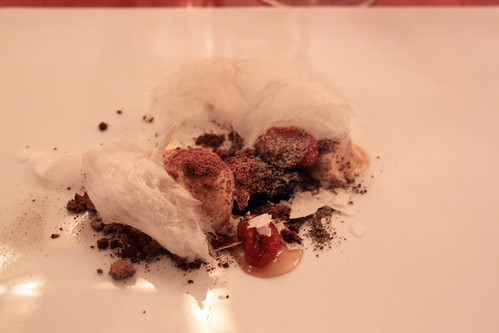 Town House - Chilhowie, VA - August 2011 - Liquid Chocolate Bar, Ice Cream of Burnt Embers, Sour Yougurt, Cotton Candy, Tomato and Sugar
