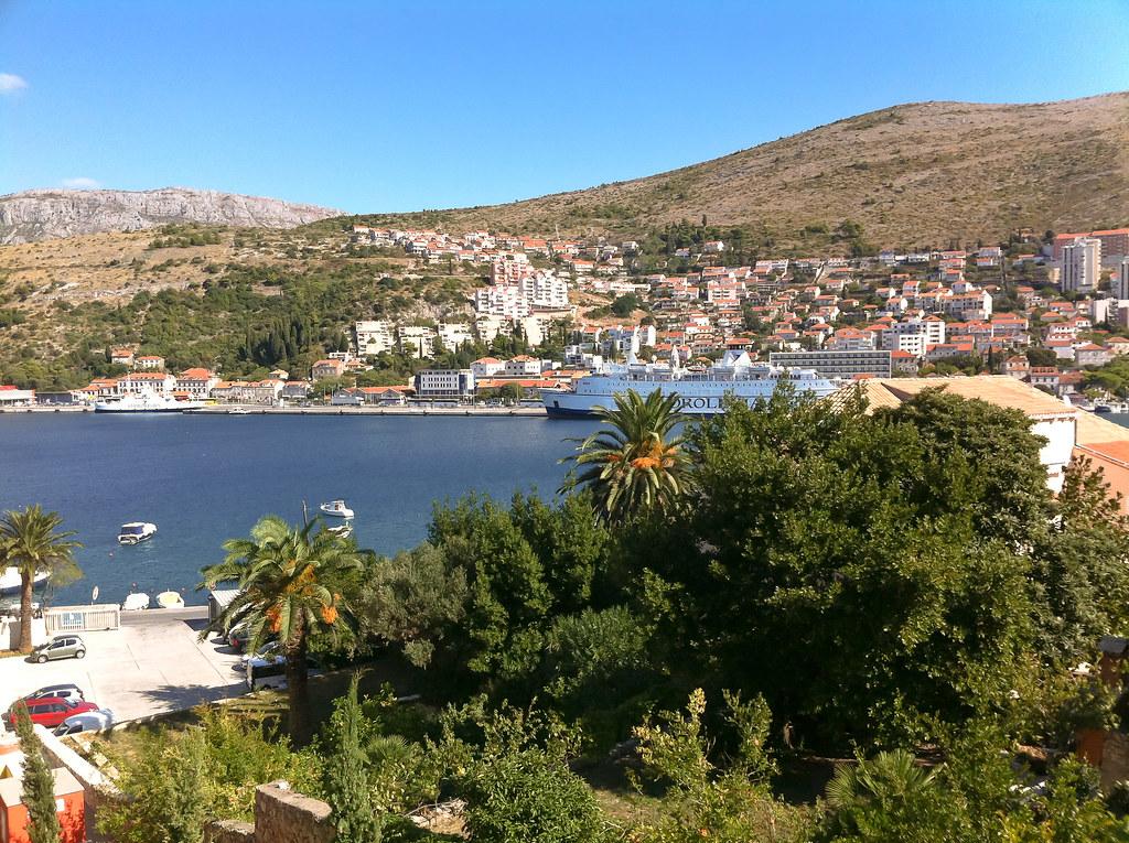 Lapad Harbour, Croatia