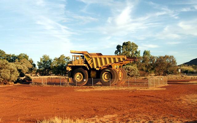 Mining Truck in Tom Price