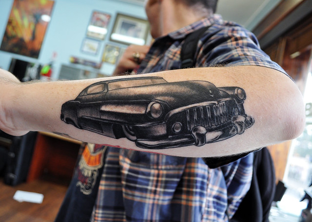 6266689960 bc2ce856cb for Hot rod tattoos