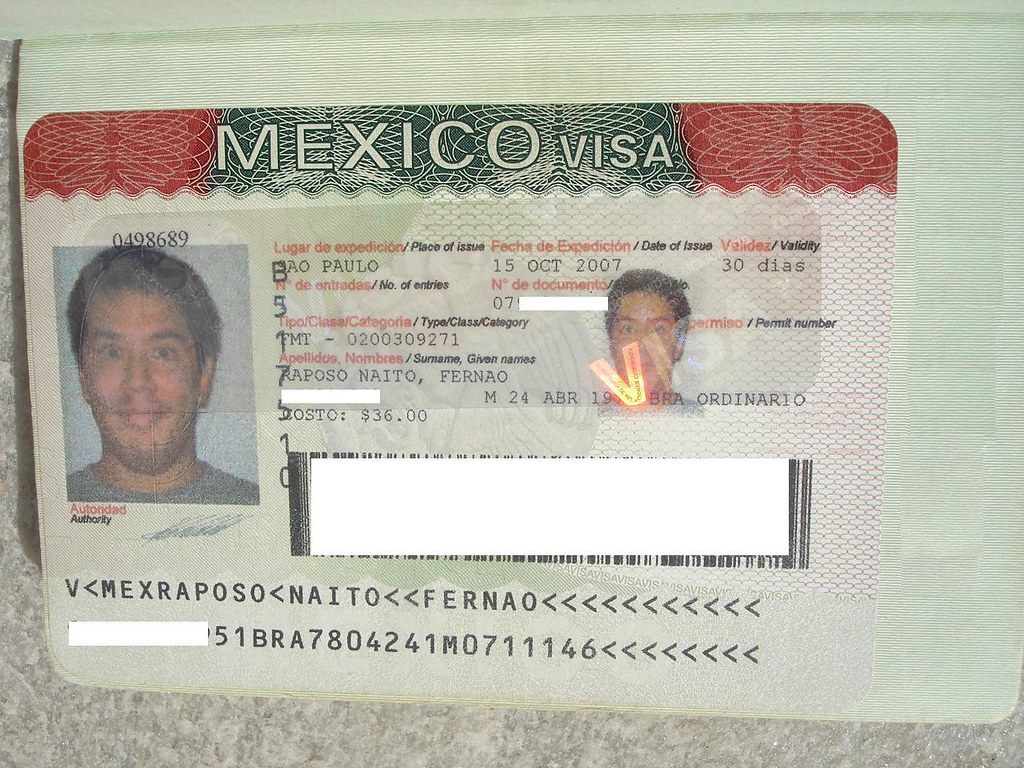 how to get mexico visa from india