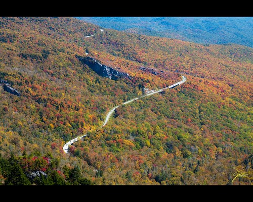 Autumn at the Linn Cove Viaduct