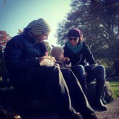 Picnic con AMA: Ada, Maria y Antonio.