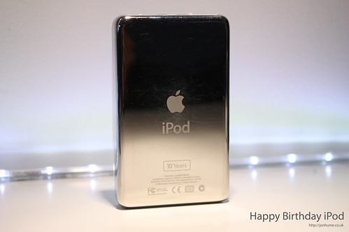 Happy 10th Birthday Apple iPod