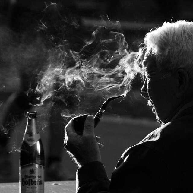 Enjoy The Autumn Light - Stunning Collection of Smoking Portraits
