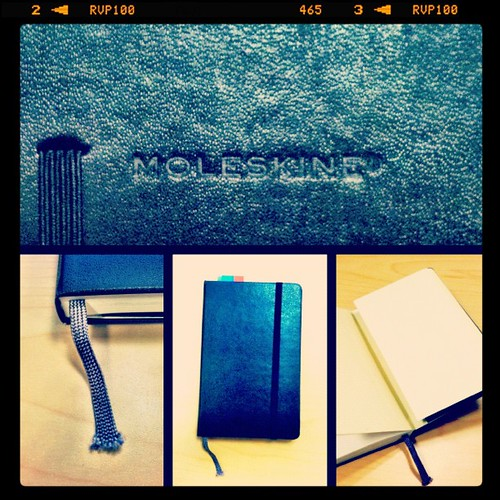 My Moleskine Notebook & its features!