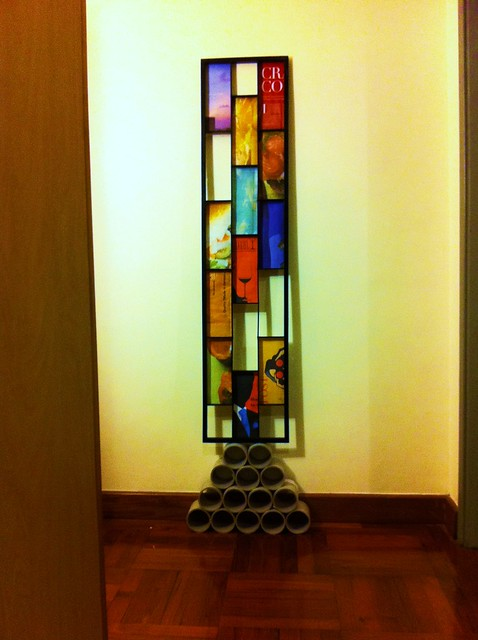 Found art recycled window frame turned awesome flickr for Recycled window frames