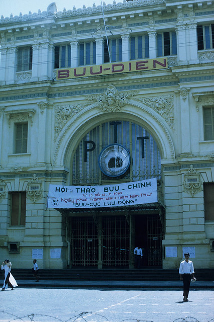 Saigon 1969 - Central Post Office