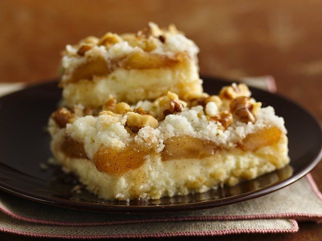 Apple Streusel Cheesecake Bars Recipe (Gluten Free) | Flickr - Photo ...