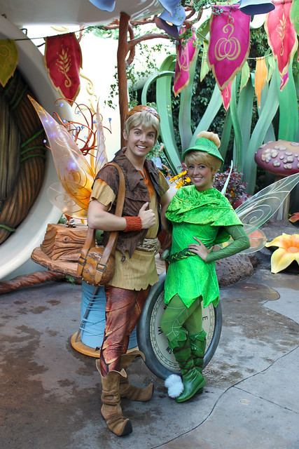 Meeting Tinker Bell and Terence