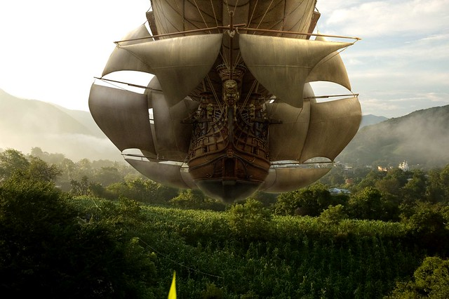 airships over Mexico