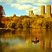 Autumn at the Lake by Johan...
