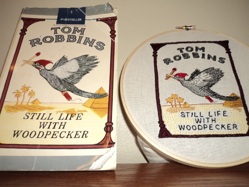 tom robbins embroidery