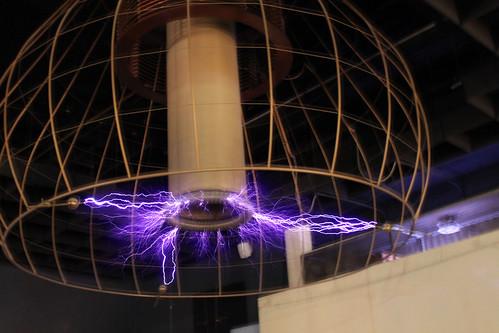 Tesla coil transformer