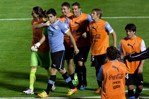 Uruguay 4 - Chile 0 | 111111-3529-jikatu