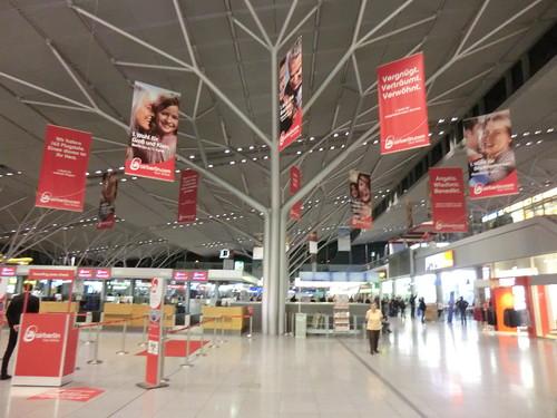 Stuttgart airport in Germany