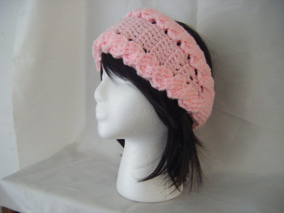 Cats-Rockin-Crochet Fibre Artist.: Beret with a simple cable