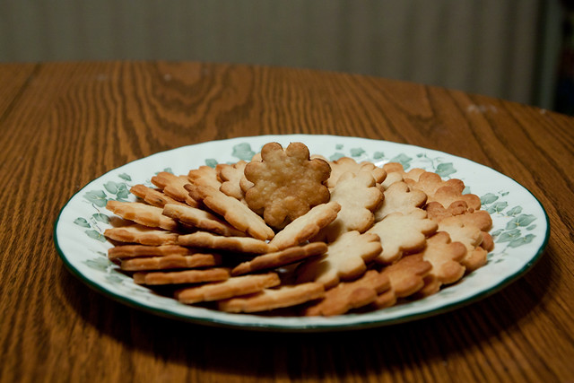 Parmesan  Butter Crackers