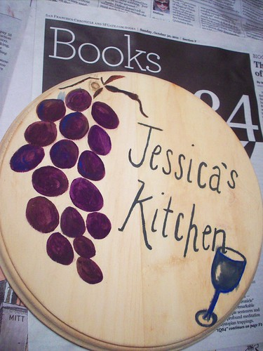 Jessica's Kitchen Plaque