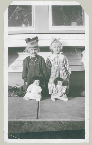 Four dolls.