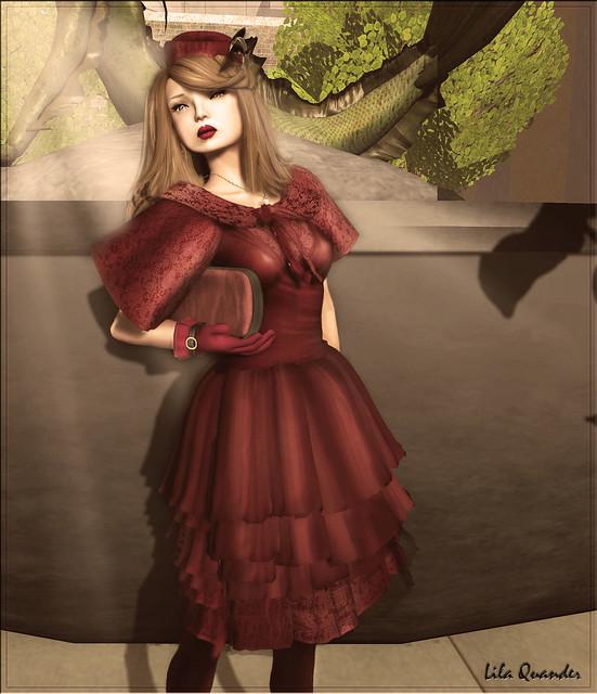 Baiastice_Florance dress-red (close) )1