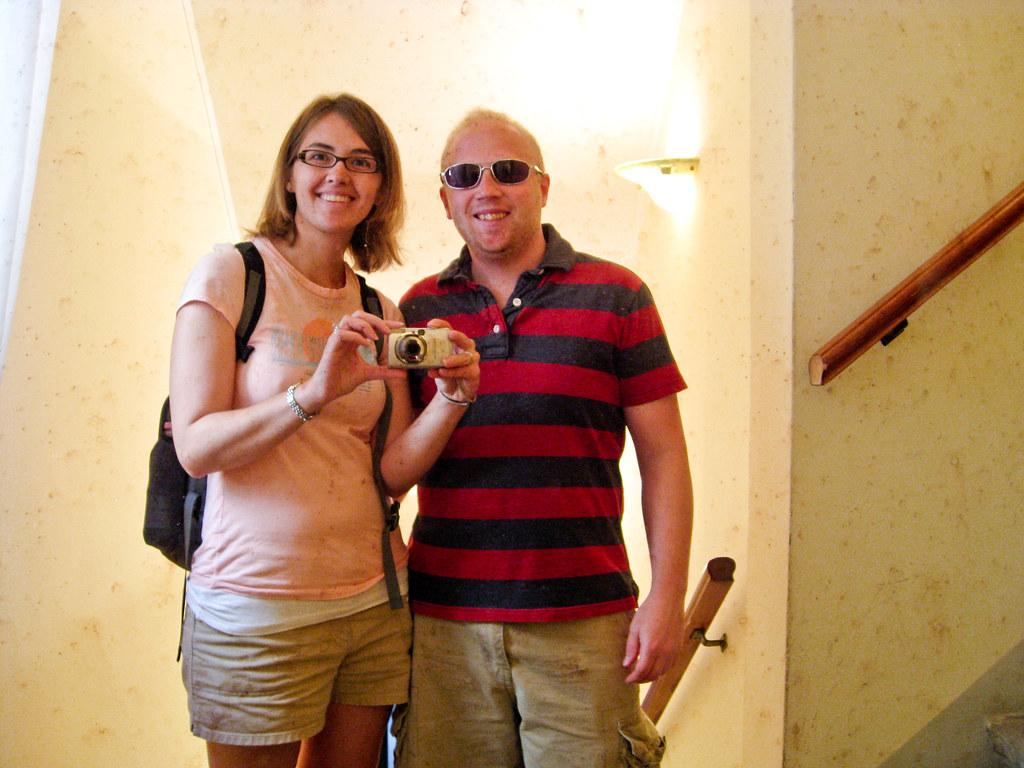Patrick & Sara at Hotel