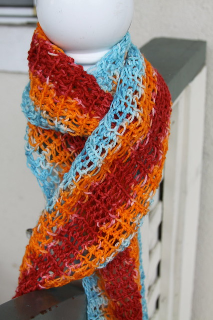 Autumn Sky Scarf