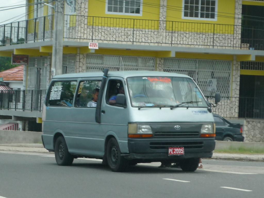 Jamaica-Toyota Hiace