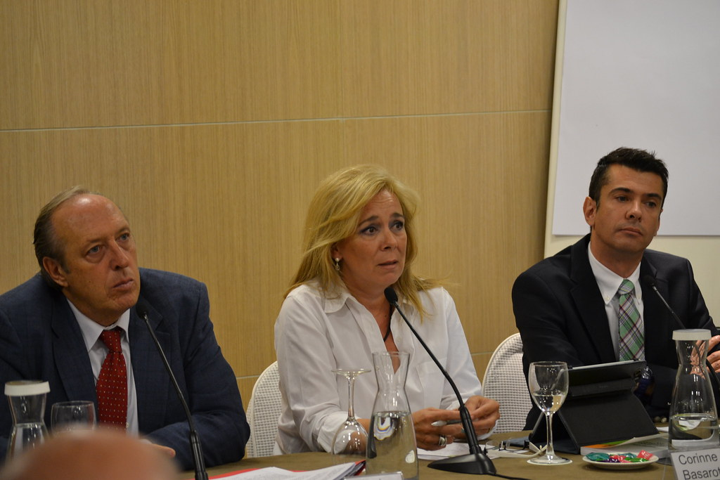 J.Peral, Corinne Basarot e Hillegas en RP