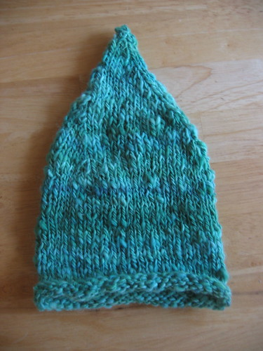 Kiwi Pointy Elf Hat