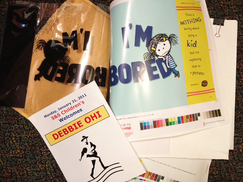 Color Proofs for I'M BORED (Simon & Schuster, 2012)