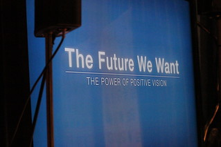 Rio+20 - the future we want: Launching a Global Conversation