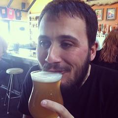 drinking, facial hair, man, drink, person, beer,