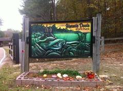 Caney Lake Sign