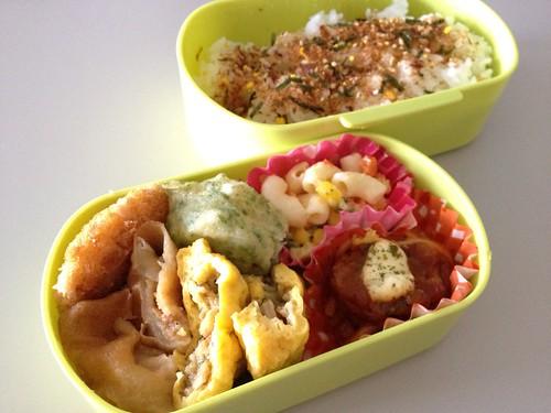 今日のお弁当 No.231 – 鰹みりん焼