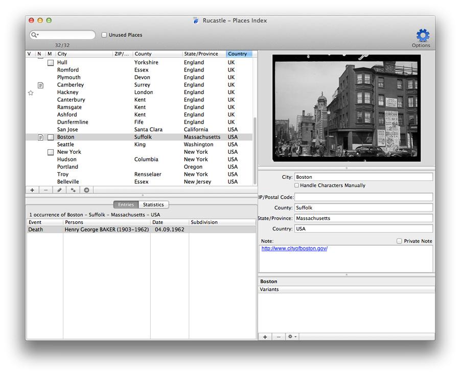 Heredis for Mac 2012 - Illustrated Index