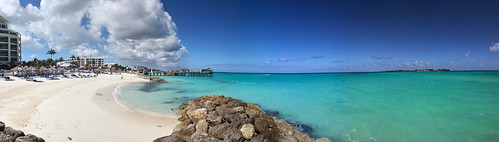sea sky panorama mer tower beach water clouds pier eau crystal ciel bahamas nassau nuages plage balmoral 2012 eauclaire gordons caraïbes autopano sandalsroyalbahamian gordonsonthepier