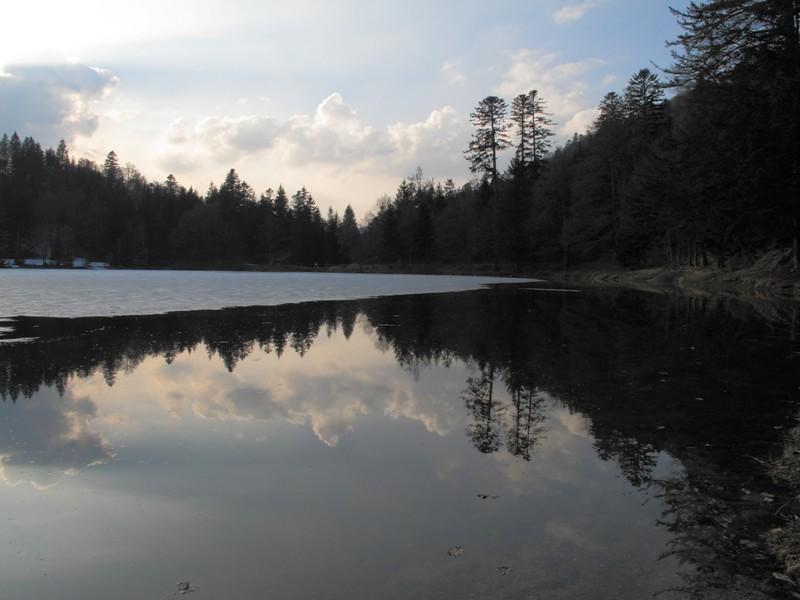 Reflets@Lac de Blanchemer