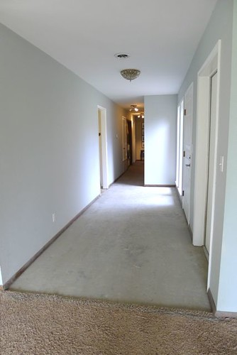 Looking towards hallway
