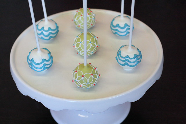 Fabric Pattern Cake Pops